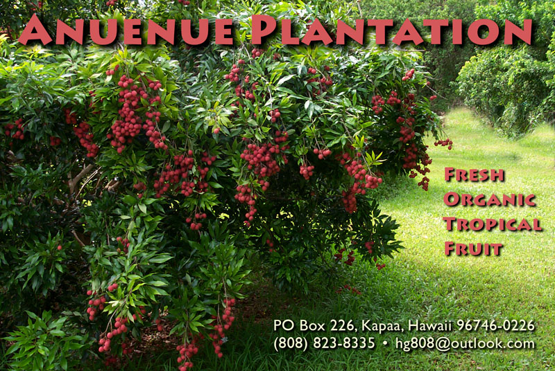 Anuenue Plantation Tropical Fruit